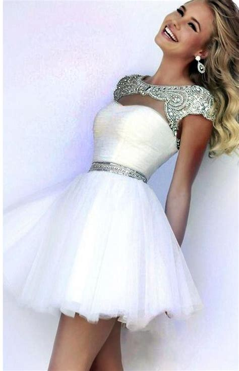 White Sort Wedding Dresses by White Wedding Dress Fashion