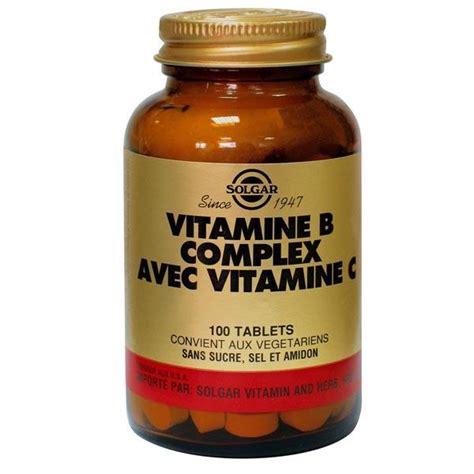 B Complex Detox by Vitamine B Complex Avec Vit C 100 Comprim 233 S Solgar