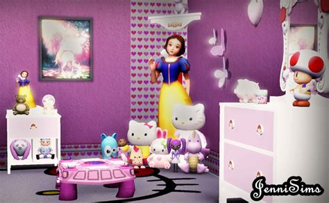 my sims 4 blog toy story bedroom set by miguel my sims 3 blog new decor for kids by jennisims
