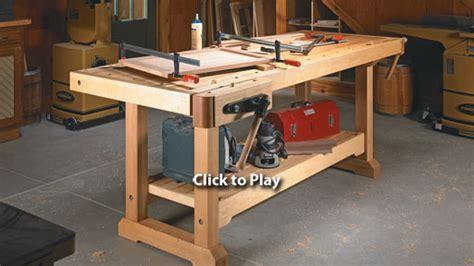 wood woodsmith workbench  plans
