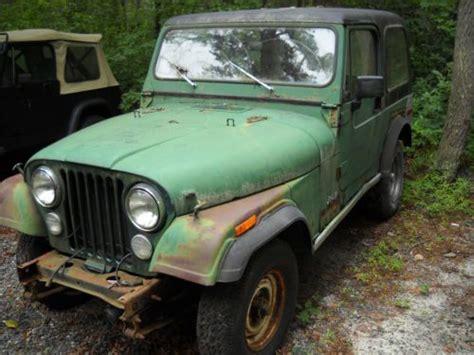 Quadra Trac Jeep Sell Used 1979 Jeep Cj7 304 V8 Quadra Trac 34k Orig