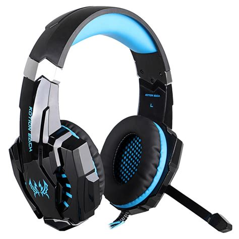 Headset Gaming Kotion Each G9000 3 5mm Single With Led Murah Grosir Ob kotion each g9000 3 5mm stereo gaming headphones black