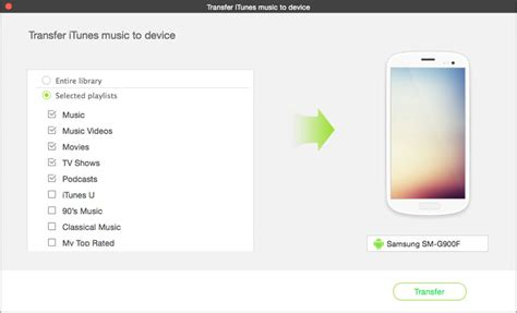 how to transfer itunes to android how to transfer from itunes library to android phones