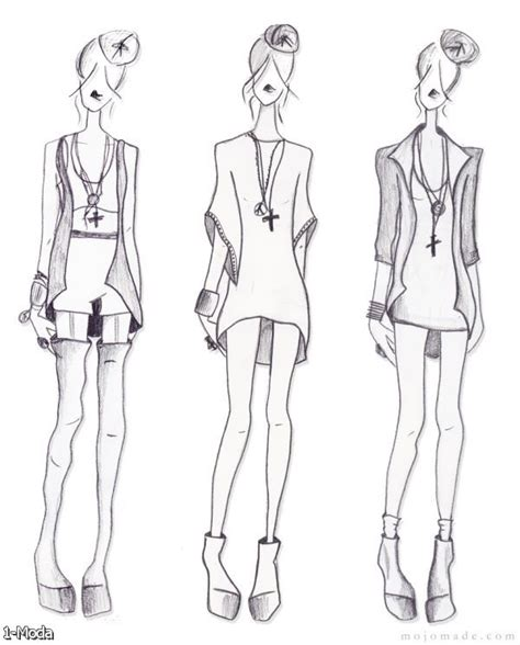 fashion croquis back 2015 2016 fashion trends 2016 2017