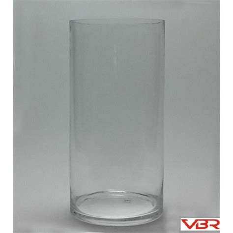 16 Inch Glass Cylinder Vases by Cylinder 8 Quot Opening Cylinder Glass Vases