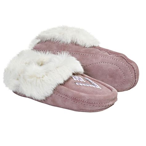 fur lined slippers manitobah mukluks suede moccasin slippers shearling