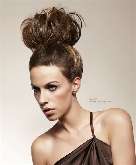 updos for medium length hair from the 1950 s 1950s inspired updo with giant pouf on top of the head