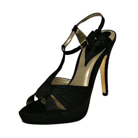 black high heel evening shoes black satin womens strappy evening high heel sandals tanga