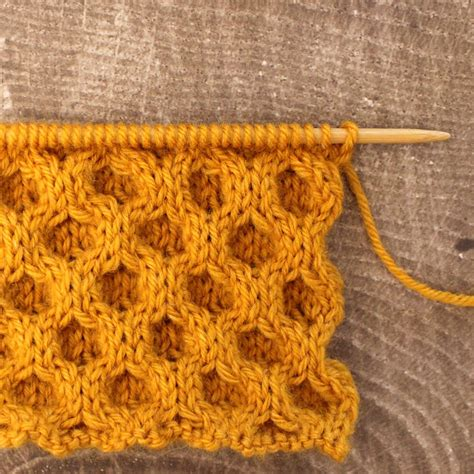 knitting honeycomb how to knit the honeycomb cable stitch pattern with
