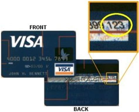 Where Is The Card Number On A Visa Gift Card - credit card verification