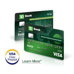 Td Gift Card - td go the reloadable prepaid card for teens td bank