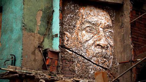 Wall Murals Graffiti vhils explosive street art youtube