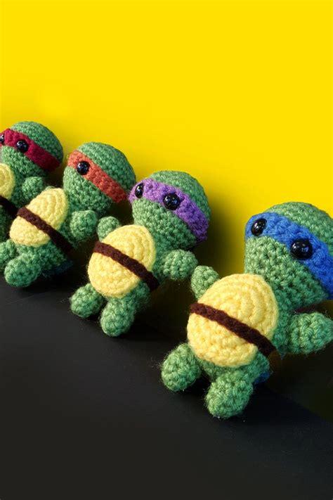 amigurumi ninja pattern free teenage mutant ninja turtles amigurumi crochet pattern