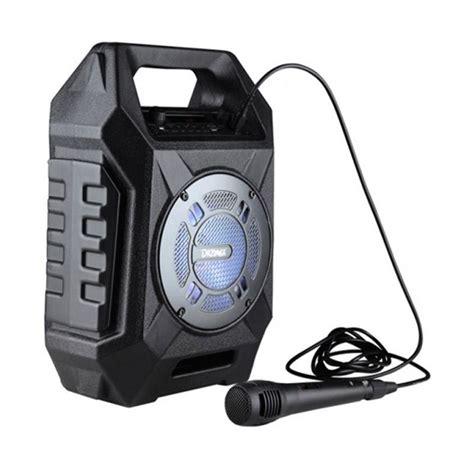 jual dazumba dw186 speaker karaoke and mic harga kualitas terjamin blibli