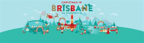 celebrate christmas in brisbane visit brisbane