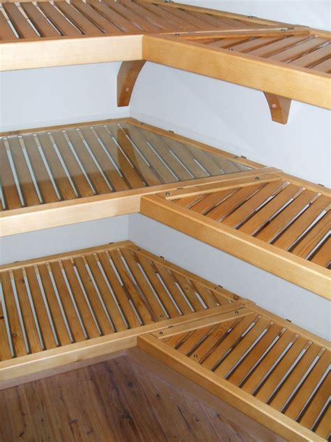 honey maple john louis home closet solid wood shelving