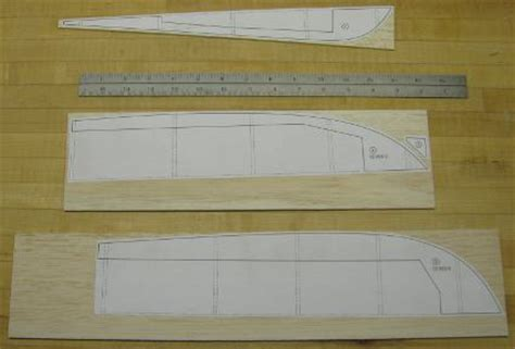 card model ship templates build an rc boat hull from scratch