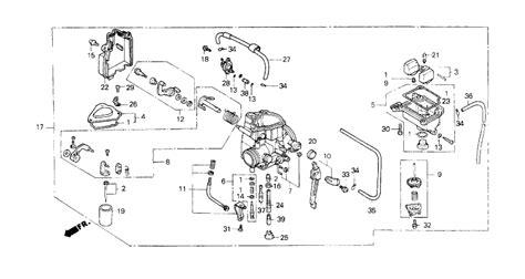 2000 honda trx400ex wiring diagram tamahuproject org