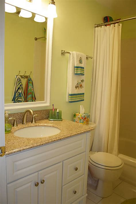 Bathroom Towel Holder Ideas by Making A Small Kids Bathroom Work