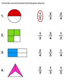 fraction worksheets and printables printable math
