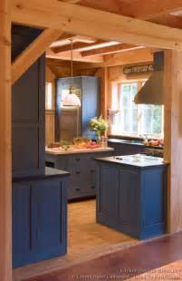 Pictures Of Blue Kitchen Cabinets Pictures Of Kitchens Traditional Blue Kitchen Cabinets Kitchen 2
