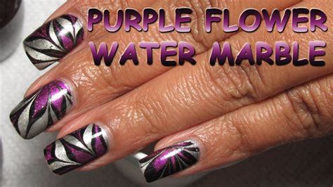 Simple Water Marble Nail