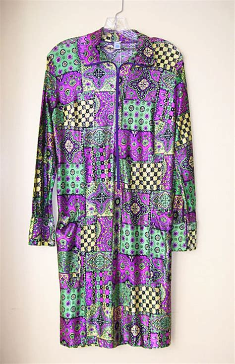 Psychedelic Ls by 1960 S Psychedelic Neon Dress Hippie Couture