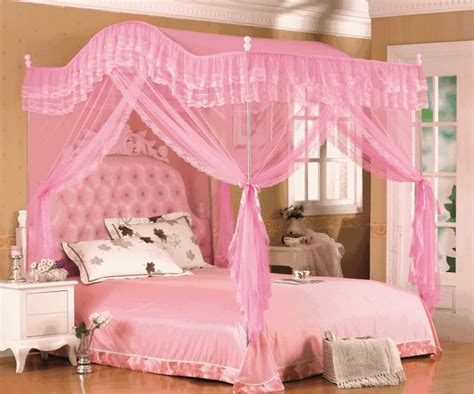 Pink Canopy Bed Pink Canopy Bed Frame Diavolet Designs Pink Canopy Bed For