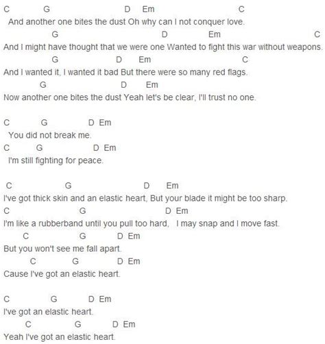 tattooed heart guitar chords 1000 ideas about elastic heart on pinterest thick skin