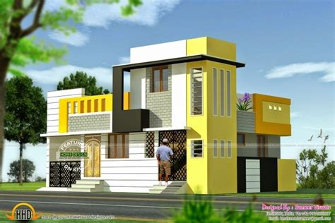 700 sq ft duplex house plans fascinating january 2015 kerala home design and floor plans front elevation of duplex