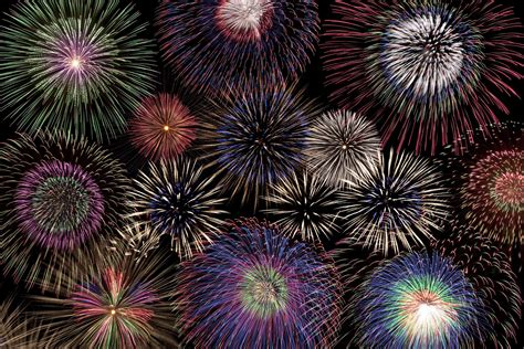 best color schemes for new years backrground chemistry of firework colors
