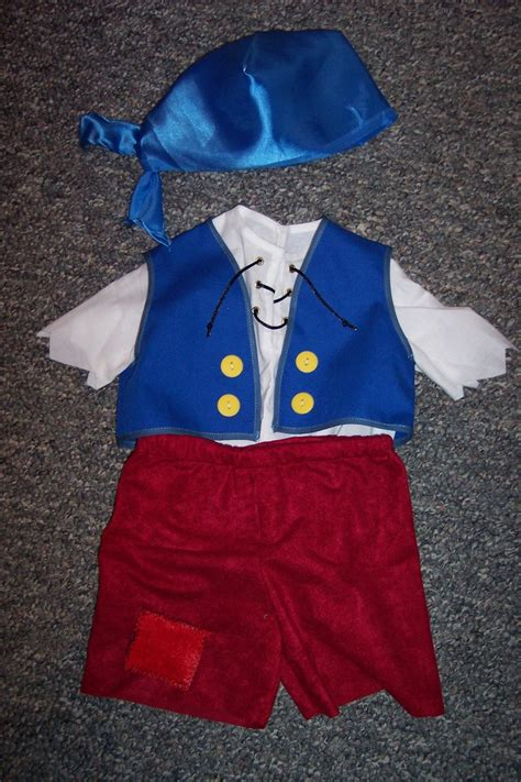 pattern for jake and the neverland pirates costume cubby from jake and the neverland pirates by