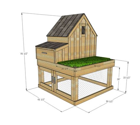 small backyard chicken coop plans free ana white build a small chicken coop with planter clean