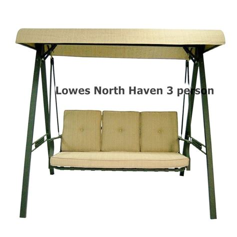 patio swing replacement cushions and canopy lowes patio swing canopy and cushion replacements