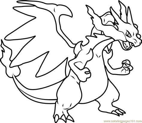 Charizard Ex Coloring Pages by Image Result For X And Y Coloring Pages