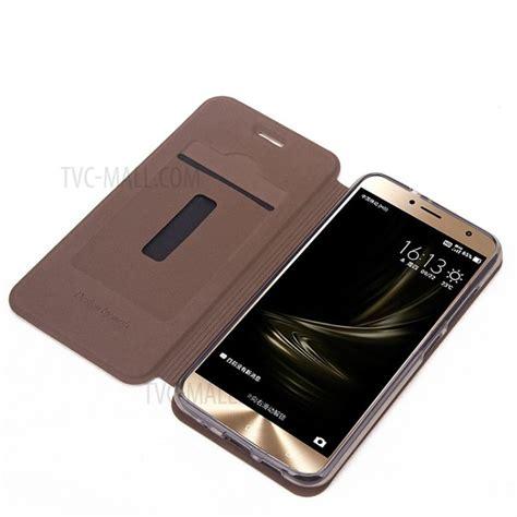 Pcb Cas Asus Ze520kl Zenfone 3 5 2 mofi vintage card slot housse de t 233 l 233 phone en cuir pour asus zenfone 3 ze520kl marron tvc mall