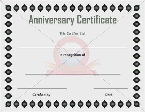 employee anniversary certificate template work anniversary certificates tolg jcmanagement co