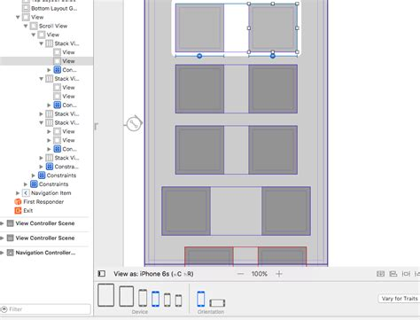 xcode autolayout ipad xcode storyboard ios autolayout two views of equal