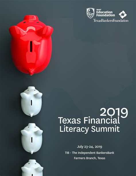 display event  texas financial literacy summit