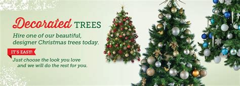 christmas trees christmas decorations delivered hire