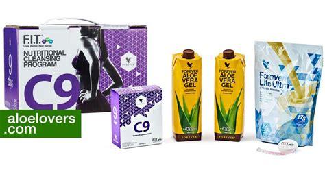 Clean 9 Detox Ireland by Forever Living C9 Programma Fitness Detox