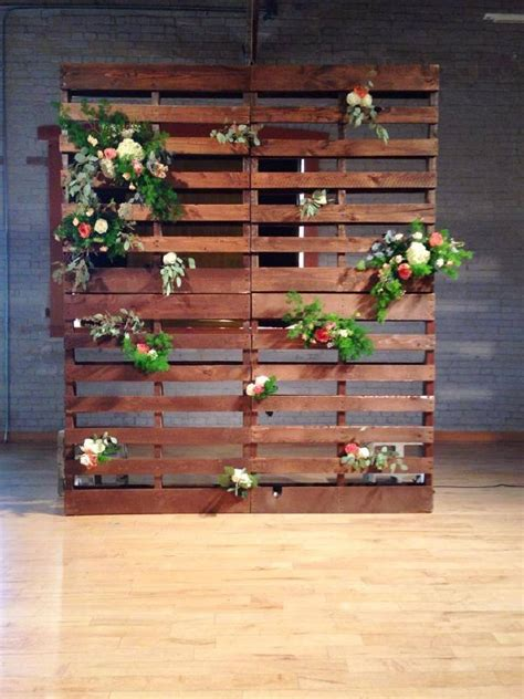 Wedding Backdrop Wood by Pallet Backdrop Wood Pallet Backdrop Stained In A