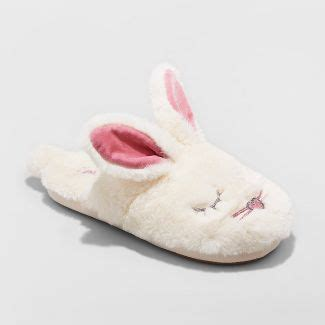 womens bunny slippers s slippers target