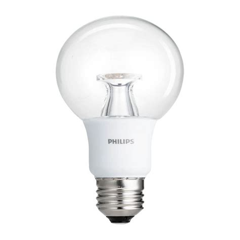 Philips 40w Equivalent Soft White Clear G25 Dimmable Led Philips Led Warm White Lights