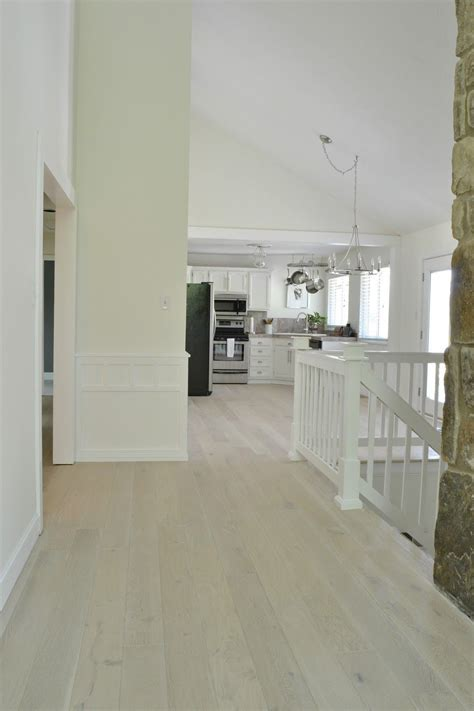 LiveLoveDIY: Our New White Washed Hardwood Flooring (and
