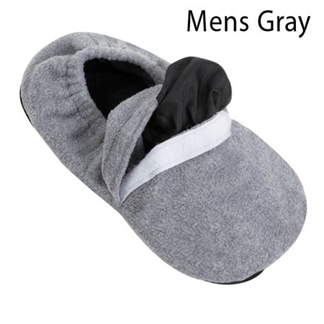 slippers for arthritic microwave heated warm comfortable arthritis slippers ebay