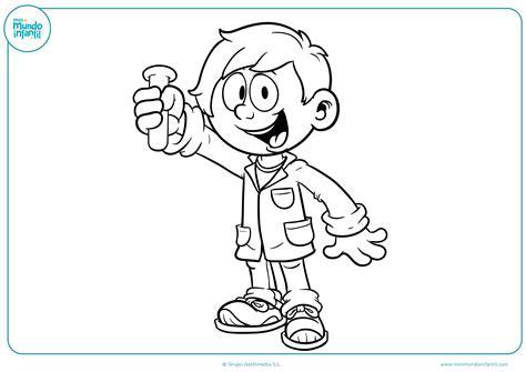 dibujos para colorear de cientificos dibujo para colorear cient 237 fico primaria mundo primaria