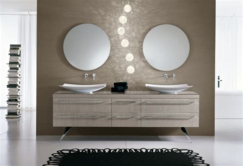 mobili bagno con due lavabi soluzioni design doppio lavabo per raddoppiare lo spazio