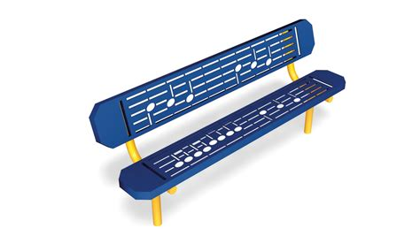 music bench music bench park benches gt site gametime