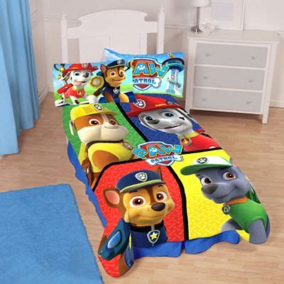 paw patrol bedding paw patrol bedding collection gt paw patrol twin full comforter from buy buy baby